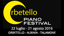 Orbetello Piano Festival 2016