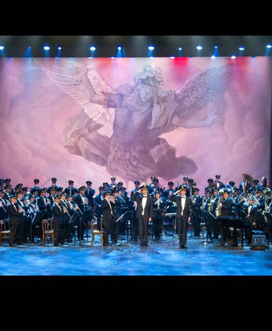 Inaugurazione OPF 2016  Banda musicale della Polizia di Stato.