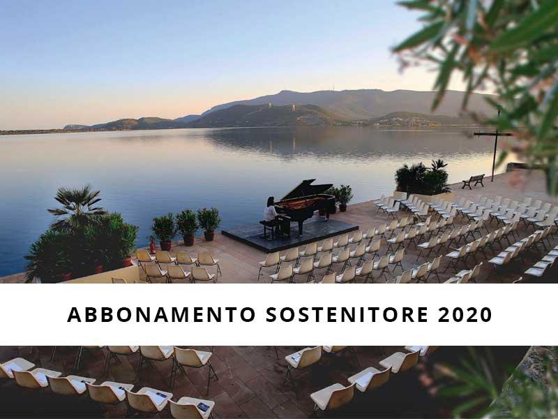 Abbonamento Sostenitore Orbetello Piano Festival 2020