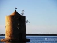Mulino spagnolo nella laguna di Orbetello